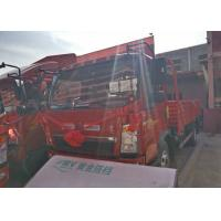Quality 2T Front Axle SINOTRUK HOWO Light Truck , 8 Ton Tipper Truck RHD 4X2 116HP for sale