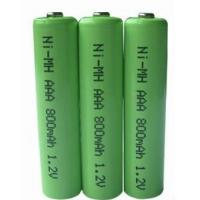 Quality 1.2V AA 800mAh NIMH Rechargeable Battery for sale