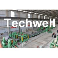 Quality 0.3 - 3.0mm / 0.5 - 3.0mm Steel Coil Cut To length Machine Line With Auto Stacker System for sale