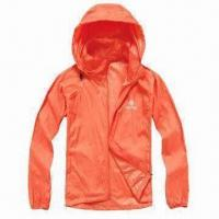 Quality Ladies' Windbreaker Jacket with Lightweight Feature for sale
