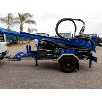 Quality 200M  Trailer mounted  Water Well Drilling Rig with 89mm drilling pipes for sale