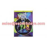 China Wholesale Inside Out DVD Disney Cartoon Movie Animation DVD For Kids Family on sale