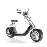 Quality Harley Electric 2 Wheel Scooter / Motorized Two Wheel Scooter With Double Seat for sale