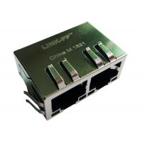 Buy cheap SI-40131 SI-60082-F Ethernet Rj45 MagJack 10/100BaseT , 1X2, G/G, Tab Down from wholesalers