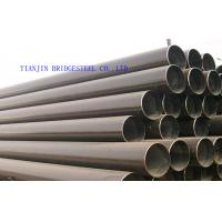 Quality Round Galvanized Carbon Steel Seamless Pipe ASTM A106 , Thin Wall 1mm - 15mm for sale