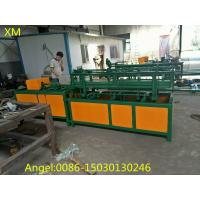 Quality 2m-4m width Double wire feeding Fully Automatic Chain Link Fence  Machine for sale