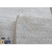 Quality High Silica Fiberglass Needle Mat 25MM 130KG 1260℃ Thermal Insulation 96% for sale