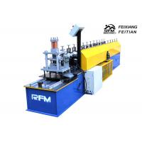 Buy Color Steel Roller Shutter Door Roll Forming Machine / Rolling Shutter Strip Making Machine at wholesale prices
