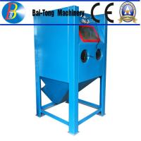 China Stainless Steel Body Wet Abrasive Blasting Cabinet , Wet Sand Blasting Machine Pneumatic Pedal Switch on sale