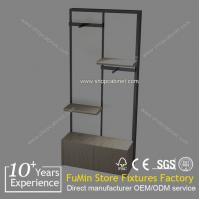 Quality clothes display stand rack shelves design for sale
