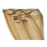 "Buy Professional 12"" - 30"" Clip In human Hair Extensions Malaysian Body Wave Remy Hair at wholesale prices"