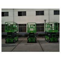Quality 2.45 × 1.35m Aluminum Work Platform , Self Propelled Rough Terrain Scissor Lift for sale