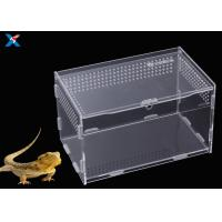Quality Customized Clear Acrylic Furniture , Acrylic Reptile Box OEM / ODM Available for sale