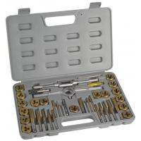 Quality Professional Engineering HSS Metric Finishing Tap and Die Sets 40pcs with DIN352 , DIN223 for sale
