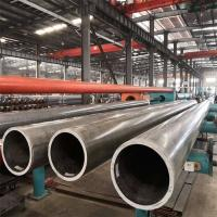 Quality Extruded Aluminum Round Pipe Customized Length High Strength 6061 Grade for sale