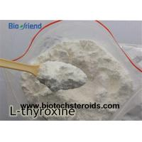 Quality Safe Weight Loss Supplements T4 Sodium Steroids Powder L-Thyroxine 51-48-9 for sale