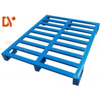 Buy cheap Stainless Steel Stackable Metal Pallets Customer Size For Heavy Duty Warehouse from wholesalers