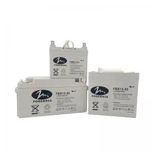 Quality FOBERRIA CE 12V33Ah 12V38Ah High Capacity Gel Lead Acid Battery for sale