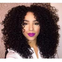 China Multi Colored Real Brazilian Curly Human Hair Extensions With Soft And Luster on sale