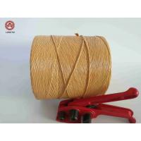 Quality Breaking Strength Braided Twisted 100% Polypropylene Twine / Pp Rope For Packing for sale