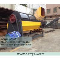 Quality agricultural film pre-processing machine, garbage film pre-process machine,sand remover for sale