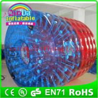 China QinDa Inflatable New water toys water walking roller Water Roller For Kids on sale