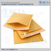 Buy BETA Golden Kraft Bubble Mailer #0 Ecolite Mailers With Strong Adhesive Tape at wholesale prices