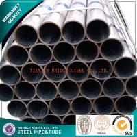Quality Q235 Zinc Coated Structural Steel Pipe SCH80 SCH160 , Galvanized Scaffolding Pipe for sale