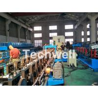 Quality 18 forming stations Auto Changeover Cable Tray Roll Forming Machine with PLC Electrical Control for sale
