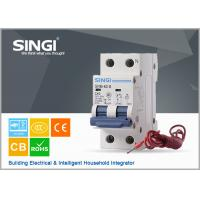 Quality DZ47S NC100HS 63A 125A Shunt Trip Circuit breaker for Prepaid Watthour Meter for sale