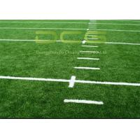 Buy High Density Premium Soccer Field Carpet / Fake Grass Soccer Field UV Resistant at wholesale prices