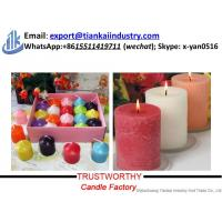 Buy white pillar candle factory China factory supply candle making best price at wholesale prices