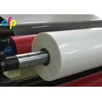 Quality High Gloss Laminate Plastic Roll Thickness 15micron to 30micron Shine BOPP Thermal Lamination Film for sale