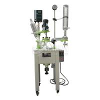 High quality 10L Stirred Glass Chemical Reactor with CE Certificate