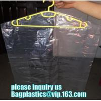 China Clothing Packing 60cm width Dustproof Plastic Dry Cleaning Laundry Bag,Custom Poly Dry Cleaning Bags For Garment Plastic on sale