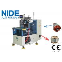 Quality Compression motor auto stator end coil lacing machine with PLC and touch screen control for sale