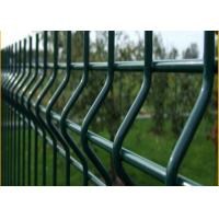 Quality 3d Curved Welded Pvc Powder Coated Wire Mesh Protecting Fence Panels for sale