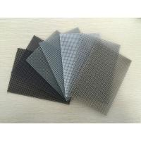 Quality Superior 11 mesh* 0.9mm wire epoxy black powder coated stainless steel window screen for Soundproof for sale