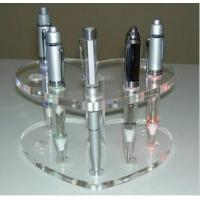 Quality 2014 Best Selling Acrylic crystal detachable E cig display stand, showing stand, show shelf for sale