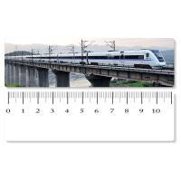 Quality Eco - Friendly Custom Printed Plastic Rulers / 3D Printing Service With Railway Pattern for sale