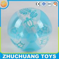 Quality printed pvc inflatable floating water ball for sale
