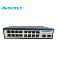 Quality SFP Fiber Ethernet Switch 8W Max Power Wall Mounts Installation 207mm × 140mm × 45mm for sale