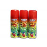 Quality High Glossy Birthday Spray String ,silly string  Anti - Flammable Party Streamer Spray for sale