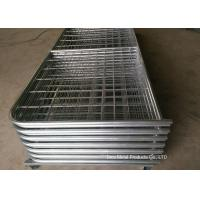 Quality Galvanized Pipe Frame Farm Mesh Fencing Easy Install With I / N Type for sale