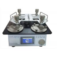 Buy cheap ISO 12945-2 ASTM D4966 Textile Testing Equipment Martindale Abrasion And Pilling from wholesalers