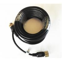 Buy Commercial Vehicle Backup Camera Extension Cable , 6 PIN MiniDin Extension at wholesale prices