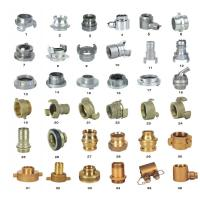 Quality OEM ODM Storz Fire Hose Couplings Aluminum / Brass Fire Hose Fittings for sale