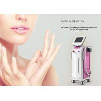 China Double Heads 1064 Nm Laser Hair Removal Equipment Diode Laser Depilation Machine on sale