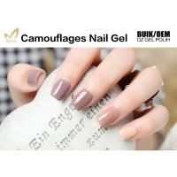 Quality No Nicks No Chips Camouflage Nail Gel Builder For Natural / False Nails for sale