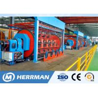 Quality Independent Drive Rigid Frame Strander Cable Equipment For Copper / Aluminum Conductor for sale